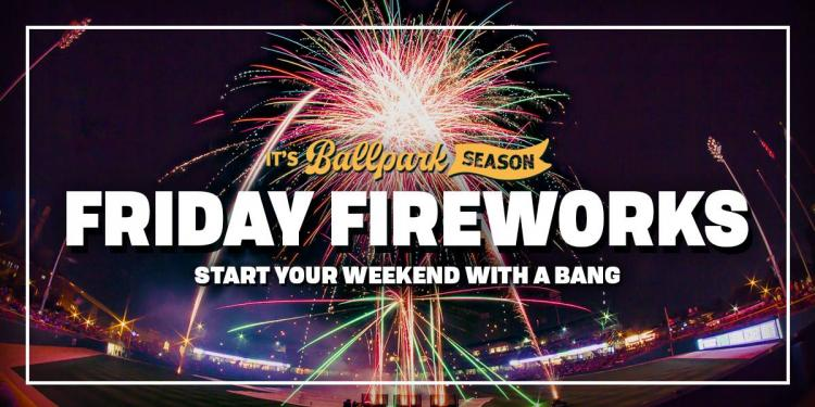 Indianapolis Indians vs Columbus Clippers - Friday Fireworks