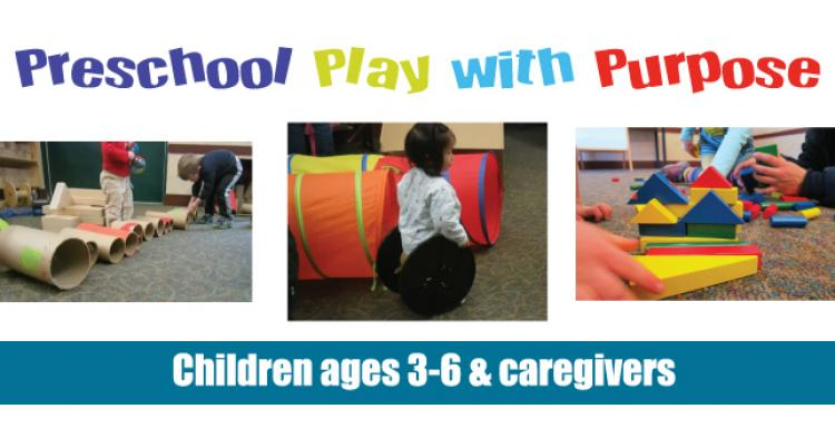 Preschool Play with Purpose at Carmel Library