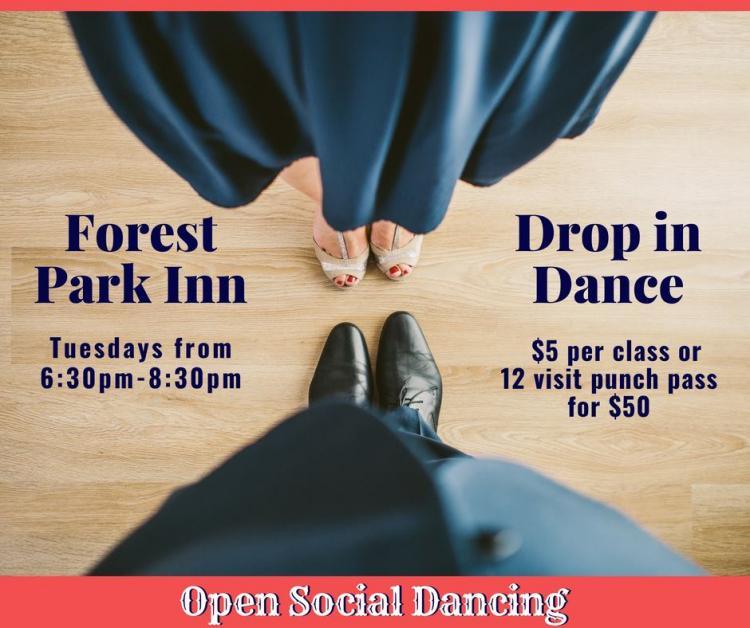 Social Dance Drop-In at Forest Park Inn