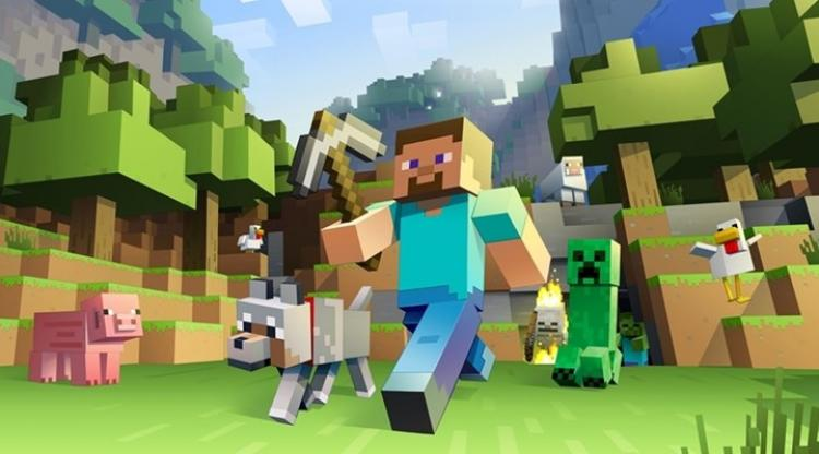 Minecraft Timed Building Challenge at Zionsville Library
