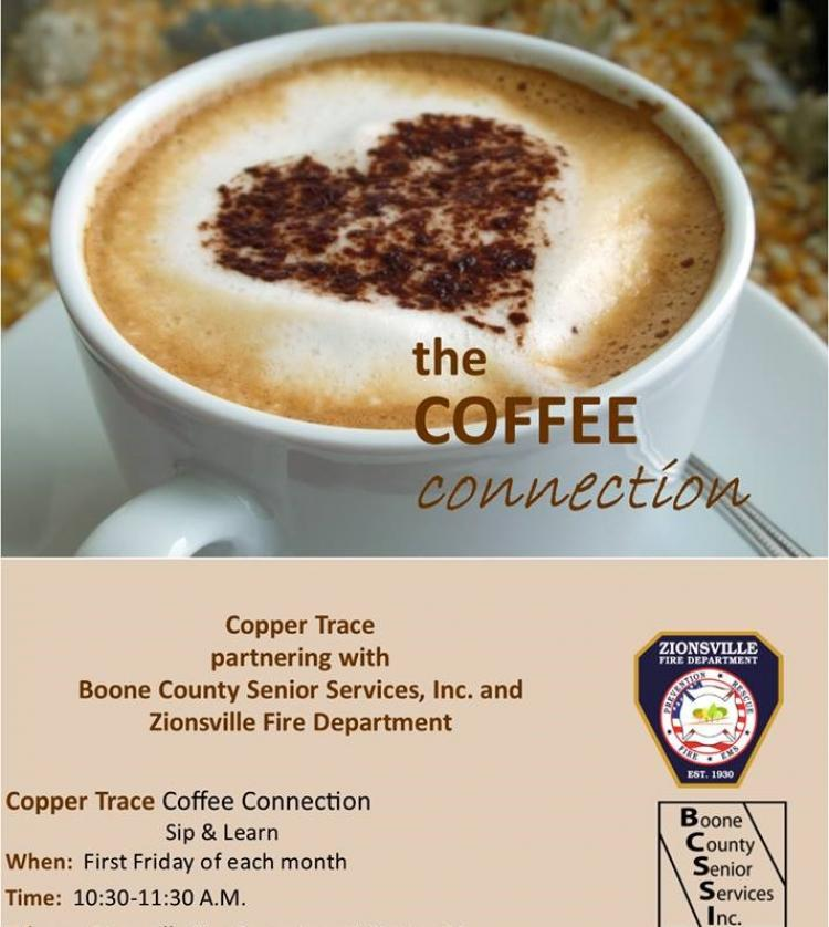Coffee Connection Clinic 'Sip & Learn' at Zionsville Town Hall
