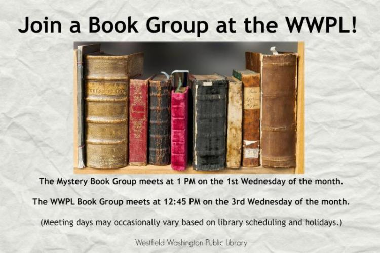 Mystery Book Club at Westfield Library