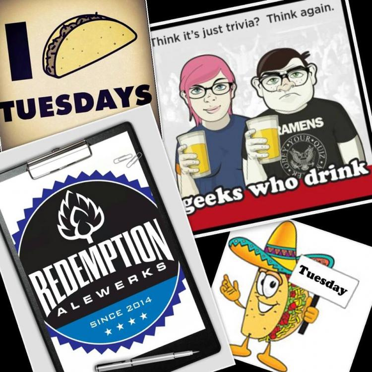 Pub Quiz with Geeks Who Drink! Hosted by Redemption Alewerks