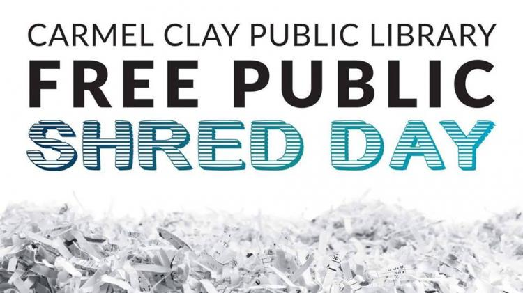 Carmel Library's Shred Day