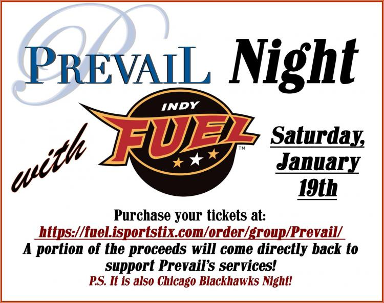 Prevail Night with Indy Fuel