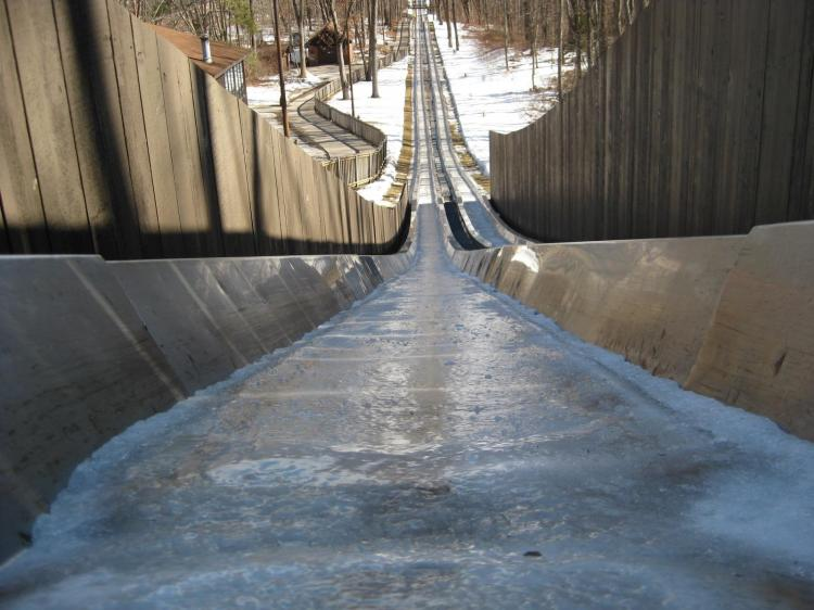 Toboggan Run at Pokagon State Park Open for the Season