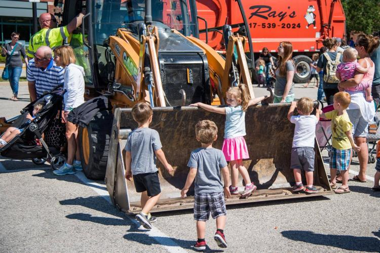 Touch a Truck in Westfield