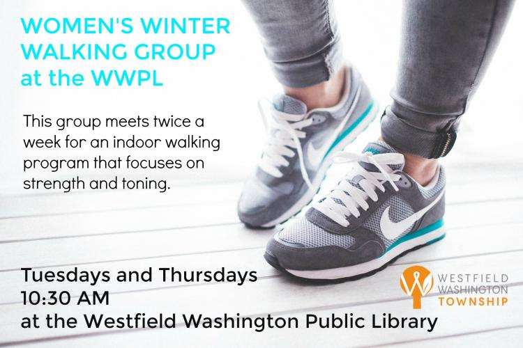 WWT Women's Winter Walking Group at Westfield Library ***March 19 & 26 Cancelled