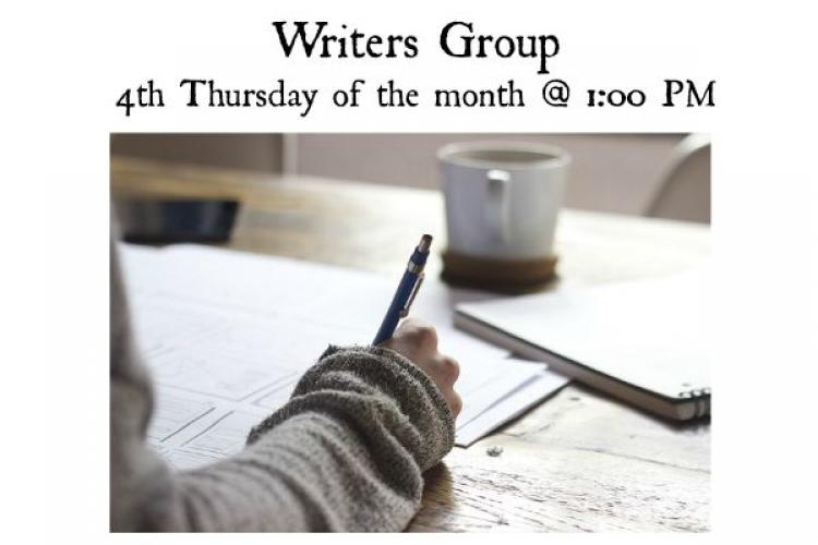 Writers Group - Westfield Library