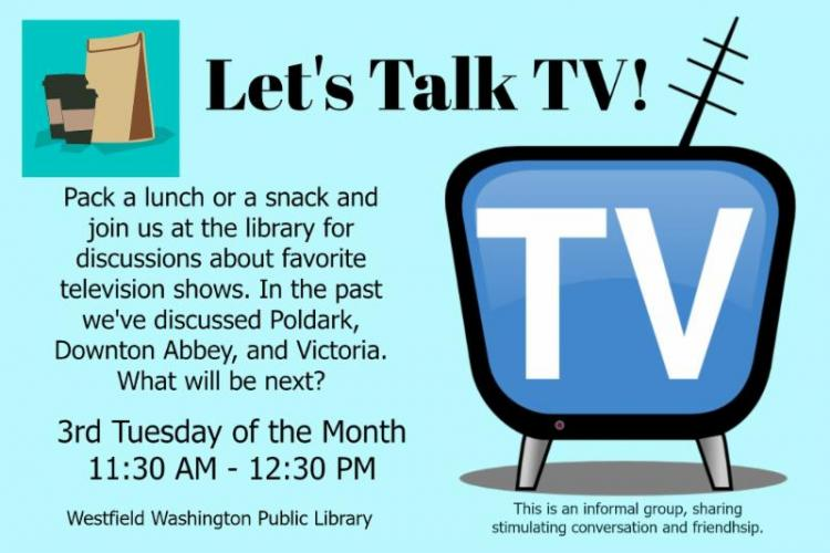 Let's Talk TV! at Westfield Library