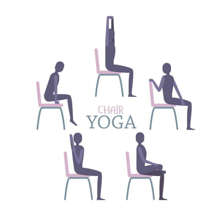 Chair Yoga at Fishers Library