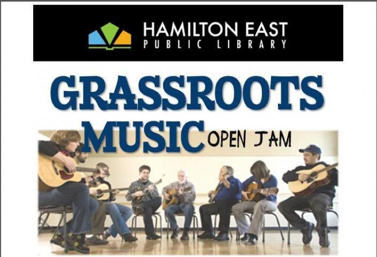Grassroots Music Open Jam Session at Noblesville Library