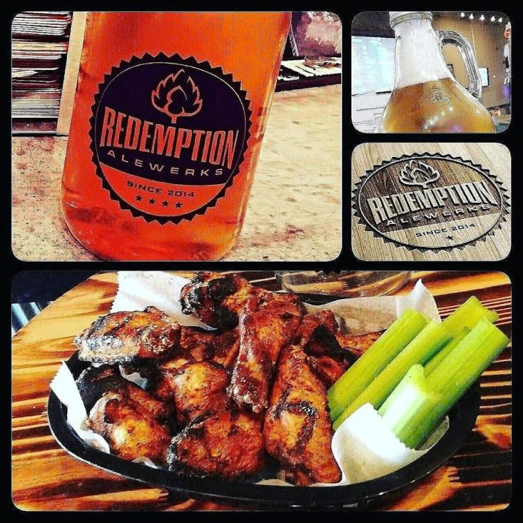 Wing Wednesday at Redemption Alewerks