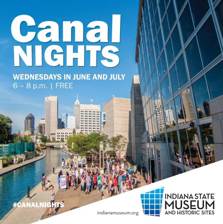 Canal Nights at the Indiana State Museum