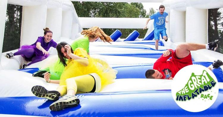 The Great Inflatable Race - Noblesville