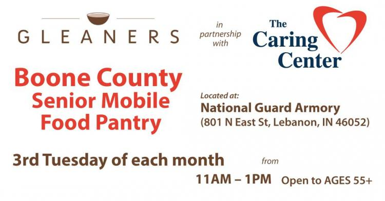 Boone County Senior Mobile Food Pantry