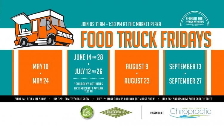 Food Truck Fridays in Noblesville