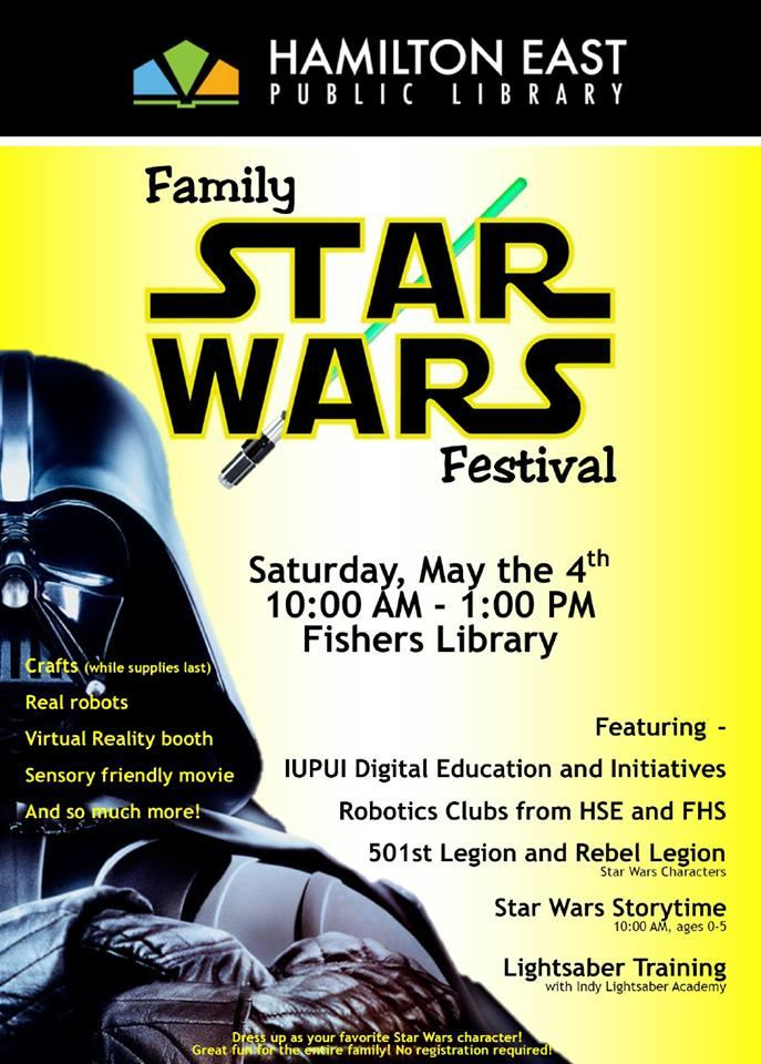 Family Star Wars Festival at Fishers Library