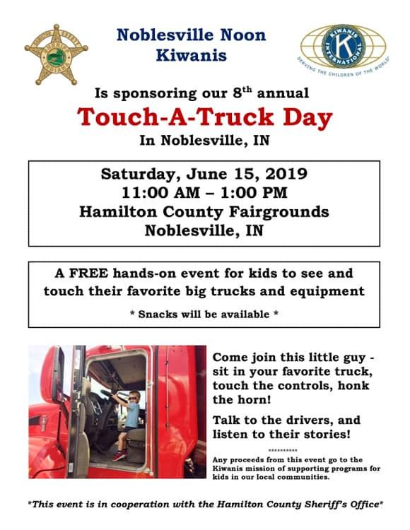 Touch-A-Truck at Hamilton County Fairgrounds!