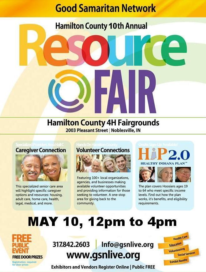 GSN Resource Fair at Hamilton County Fairgrounds