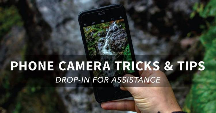 Drop In: Smart Phone Camera Tips and Tricks at CCPL
