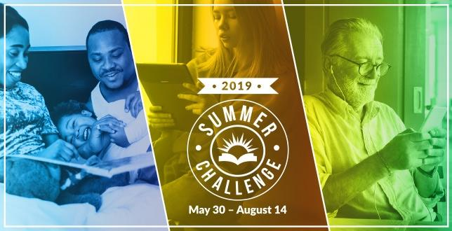 Summer Reading Challenge at CCPL
