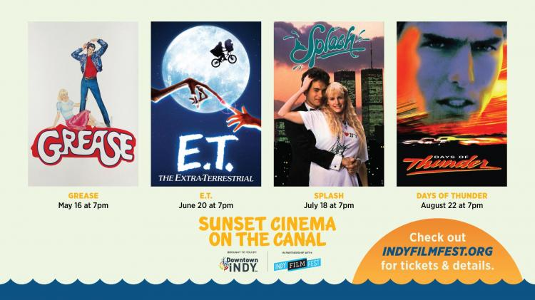 Sunset Cinema on the Canal - Downtown Canal Walk