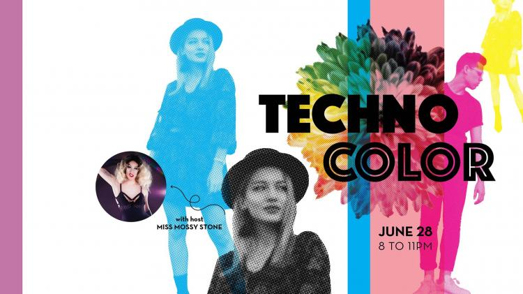 Techno Color After Hours Event at Indiana State Museum
