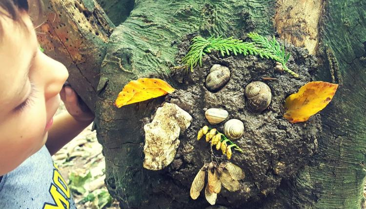 Zionsville Nature Play Days – Nature Faces