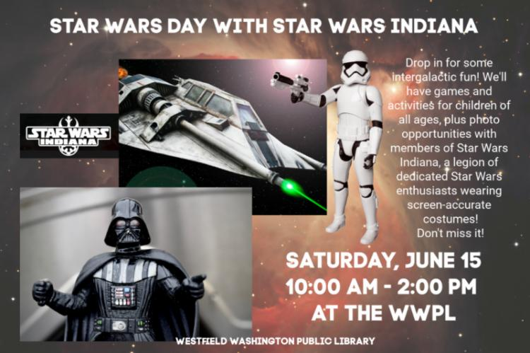 Star Wars Day at Westfield Library