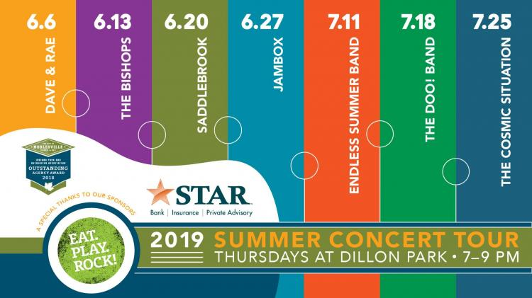 Summer Concerts at Dillon Park in Noblesville