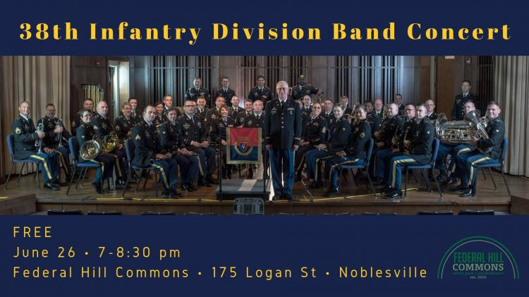 38th Infantry US Army Band at Federal Hill Commons