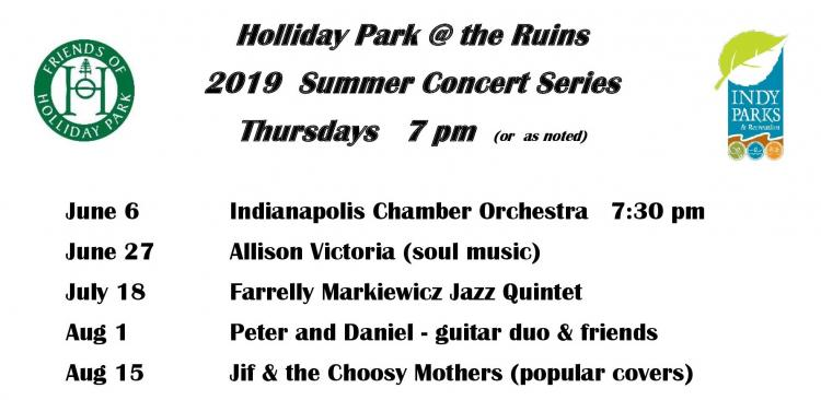 Summer Concert Series at Holliday Park