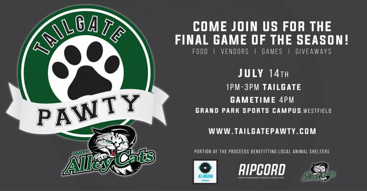 Tailgate PAWTY with INDY AlleyCats
