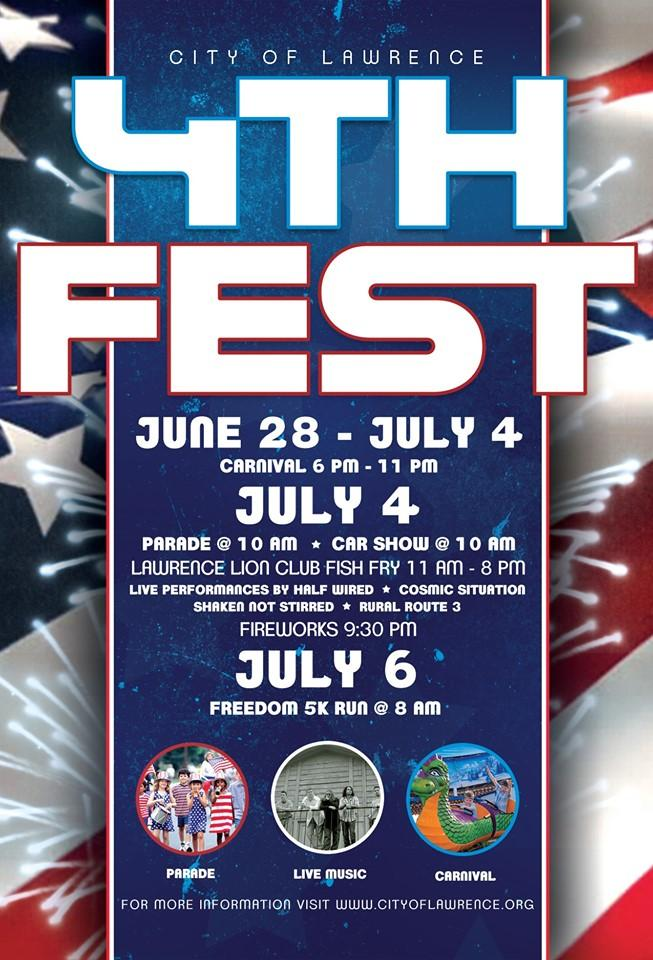 Fourth Fest in Lawrence!
