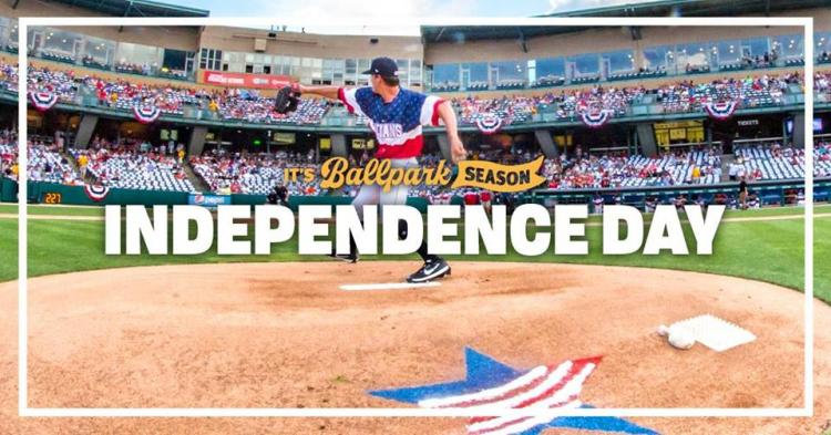 Independence Day Celebration at Victory Field
