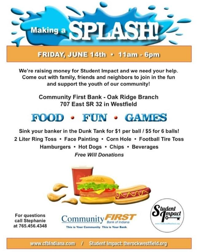 Making a Splash! benefiting Student Impact of Westfield