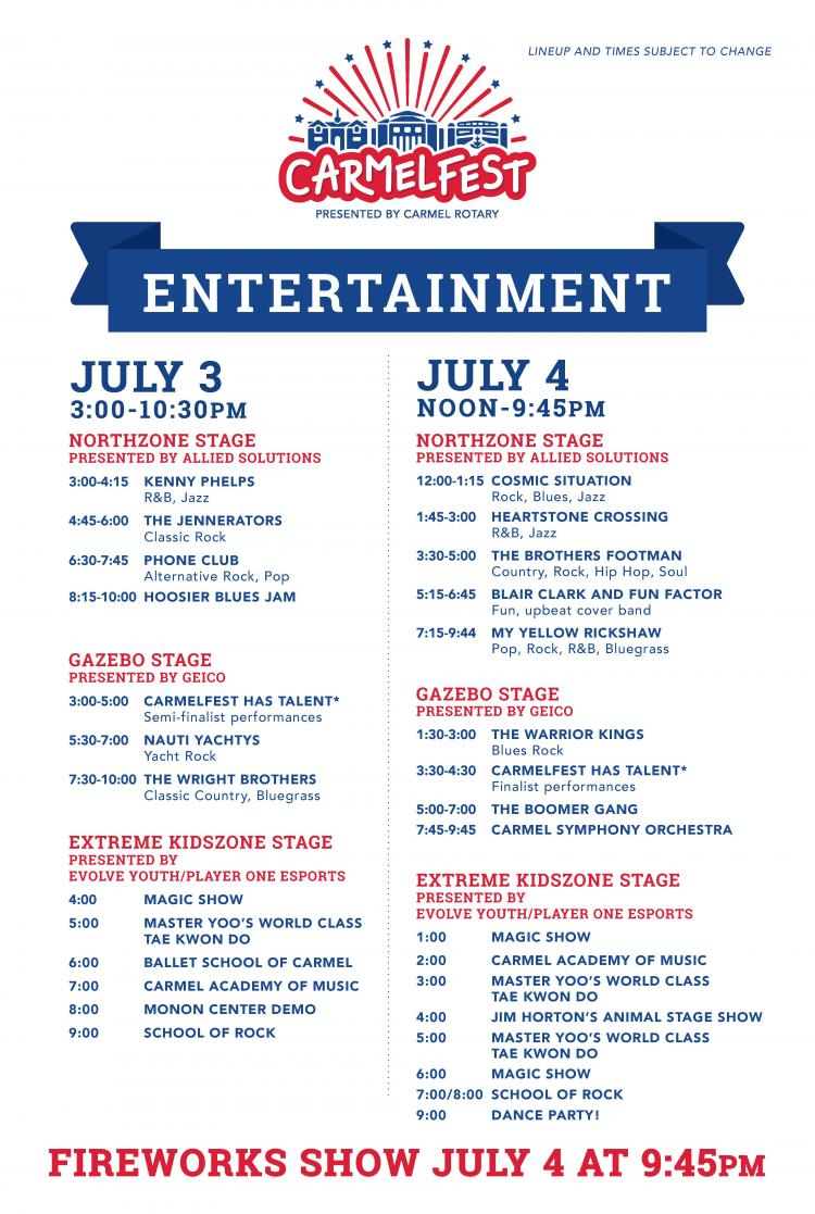 CarmelFest - Two Day 4th of July Celebration