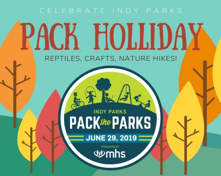 Pack the Parks Day at Holliday Park