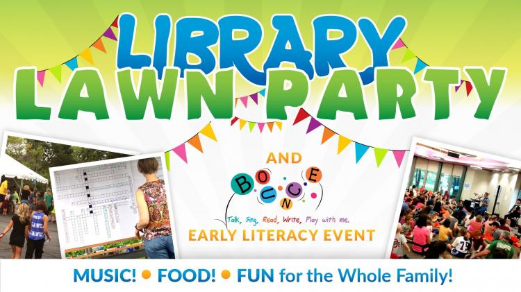 Library Lawn Party at Carmel Library