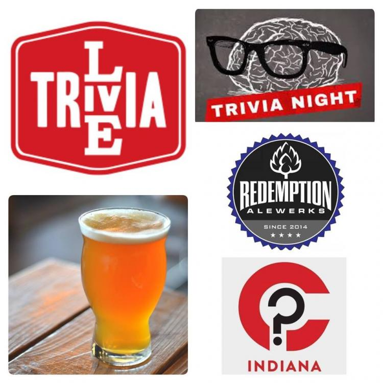 Live Trivia Tuesdays! at Redemption Alewerks