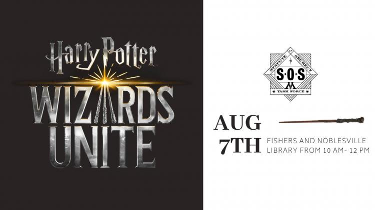Harry Potter Wizards Unite - Hamilton East Library Event