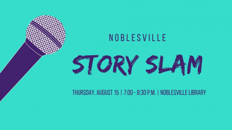 Story Slam at Noblesville Library