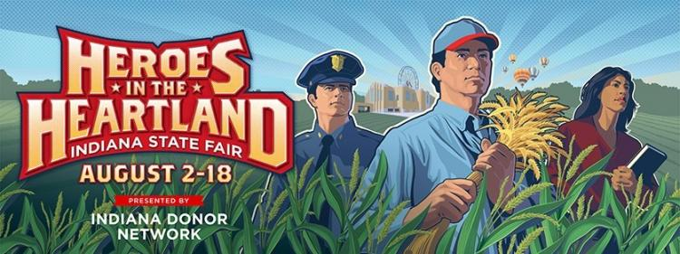 Indiana State Fair - Heroes in the Heartland!