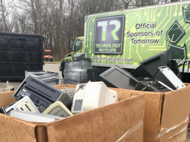 Fall City Recycling Day in Fishers