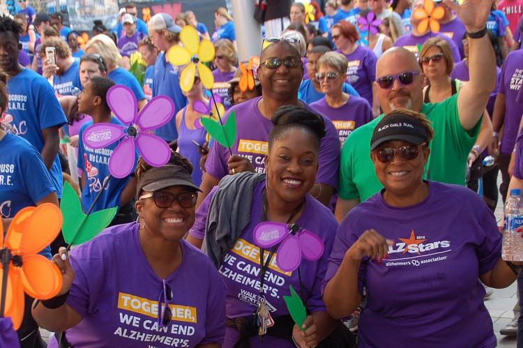 2019 Walk to End Alzheimer's at Victory Field