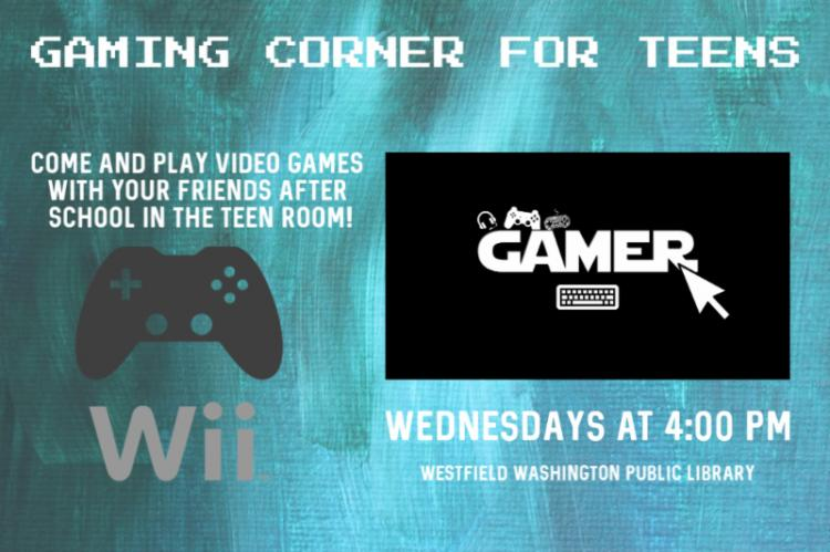 Teen Gaming Corner at Westfield Library