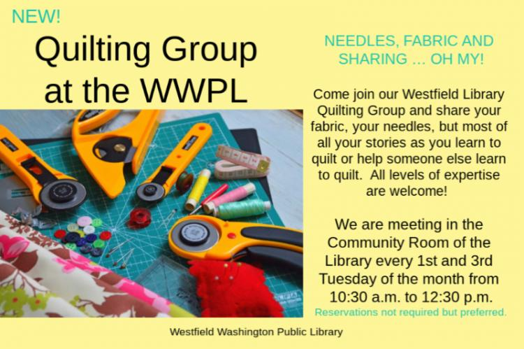 Quilting Group at WWPL