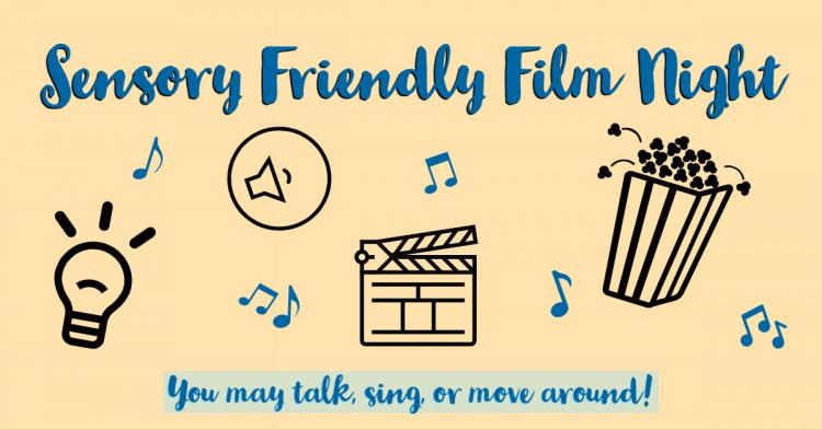 Sensory Friendly Film Nite at Zionsville Library