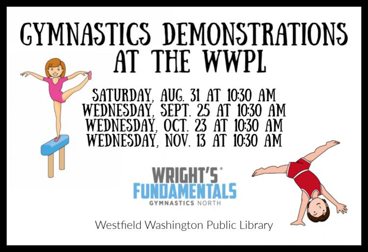 Gymnastics Demonstration at Westfield Library